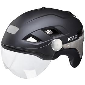 KED B-Vis X-Lite Pyöräilykypärä , musta